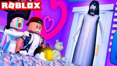 Roblox睡梦派对故事:一个奇怪的梦,可怕修女出现在窗口!