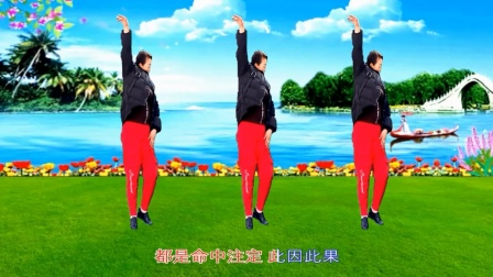 梦中的流星广场舞《忘川的河》舞蹈:海英