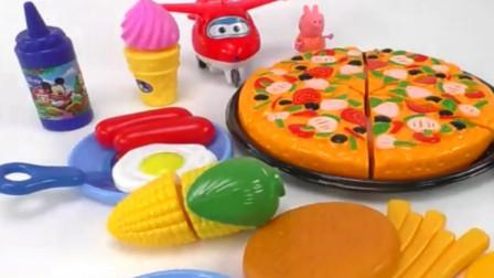 趣味西餐披萨儿童玩具