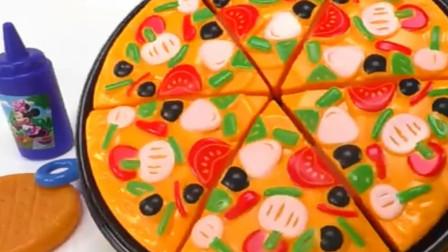 美味西餐披萨玩具过家家