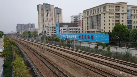 广深线普客,动车(塘厦文化公园天桥)