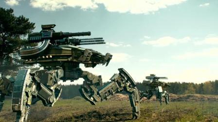 这就是现代化战争,新型战争机器,坦克都不放在眼里