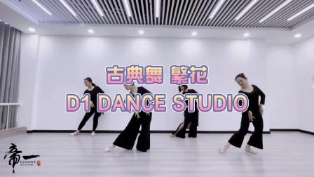 青岛古典舞《繁华》帝一舞蹈会员结课展示
