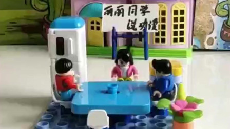 搞笑玩具:开饭啦,全是美味啊