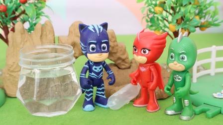 睡衣小英雄:猫小子鼓起勇气玩水玩具故事