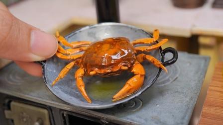牛人自制迷你厨房,能将螃蟹煮熟吗?网友:真香!