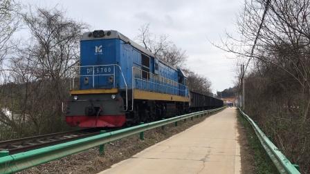 中国宝武马钢集团铁运公司DF7C内燃机车