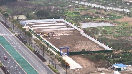 南京地铁S2/宁马线马鞍山段先期试验工程——九华路站附属设施已开工。