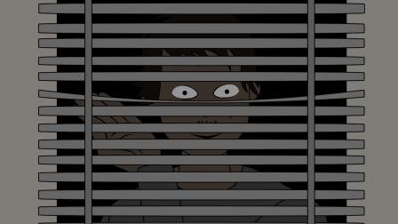 百叶窗外的男人,蛋泥动画