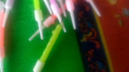 彩色蜡烛颜色排序