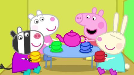 小猪佩奇:佩奇独占树屋,还不想跟男孩子玩,真是自私