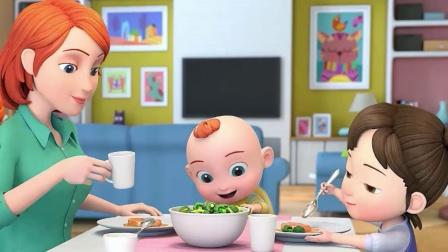 超级宝贝JOJO:谁知盘中餐,粒粒皆辛苦
