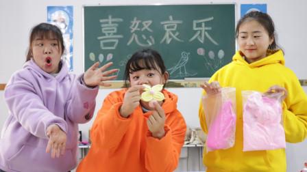 柚柚用黏土教同学做七彩饺子和枣花,太漂亮了,简单实用