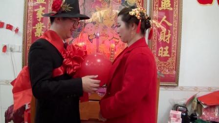 2021年农历正月16日南阳南岭村钟伟锋先生&戴添花小姐  喜结良缘