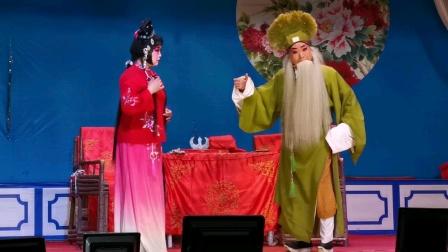 《卖画拍门》大幕,郫县振兴川剧团2021.03.01全团合演。