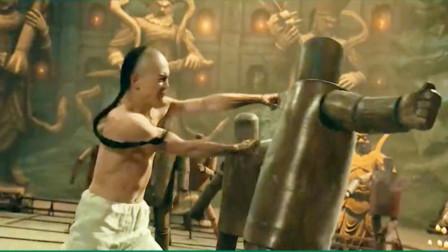 罗汉拳,少林看家绝技,双拳出击一招制敌!