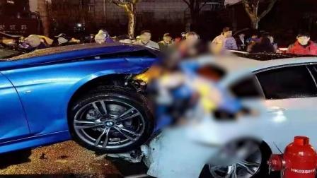 上海虹口区发生严重车祸,2人当场死亡5人受伤送医