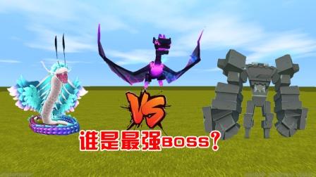 迷你世界:最强boss投票大赛,表弟选择黑龙,你觉得谁最强