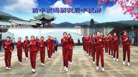 湖南双峰激扬舞步快乐健身队学习 跳跳乐第22套晓敏快乐健身操第13节《我的那个亲亲呀》