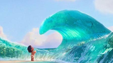 女孩得到海洋之神的祝福,时时刻刻被大海保护,奇幻冒险电影