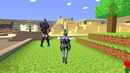 钢铁侠来到村庄里,为什么要伤害奥特曼呢?
