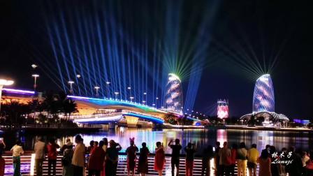 中国海花岛2021年元宵节灯光秀,绝对是一场具有国际范的惊艳星空的视觉大餐(精编版)