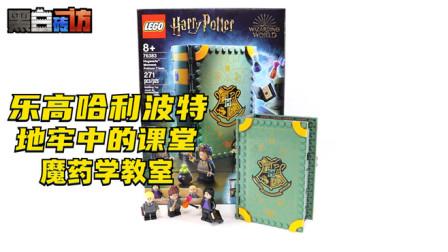 【黑白砖访】★乐高LEGO★哈利波特76383霍格沃茨时刻魔药学
