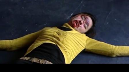 黑老大摔倒女服务员笑出声,黑老大瞬间大怒,当场打死她