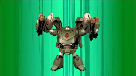 变形金刚玩具,隔板,也叫愣头青,是个力大无穷头脑简单的家伙