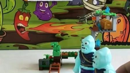 搞笑玩具:这两个傻怪兽,我都服了