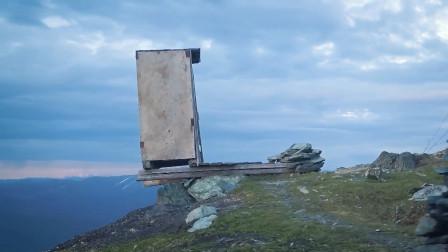 世界上最危险的厕所,蹲上去后真真的让人一泻千里!