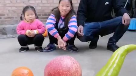 五彩童年:今天妈妈来发水果啦,宝贝想吃苹果
