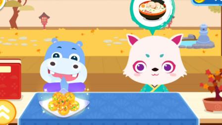 宝宝美食制作 拉面 亲子游戏