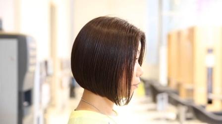 商业沙宣头这样修剪,很快,很好看,供发型师学习