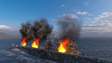 战舰世界:航母全程高能,怎料队友不争气,活活被敌人击沉