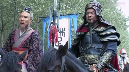 韩信:项羽与刘邦大军再见,一人杀向汉军,却被神射手射中!
