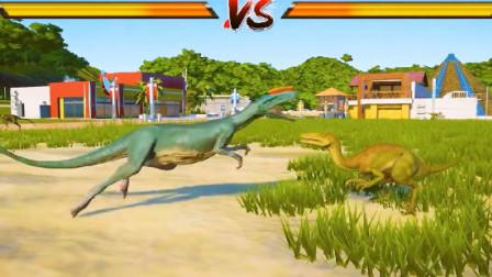 侏罗纪世界:小恐龙打斗活蹦乱跳的,活力满满