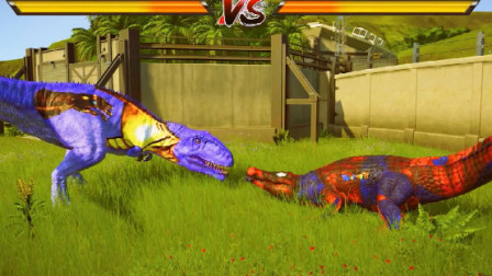 侏罗纪世界:巨兽龙VS巨鳄,海陆谁才是王者