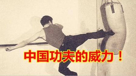 差距多大?泰森和李小龙打沙袋训练画面对比,谁更厉害一目了然!