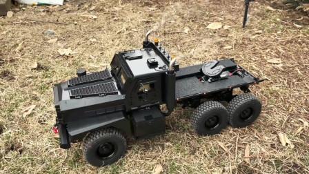 演示仿真燃油大卡车玩具,儿童玩具