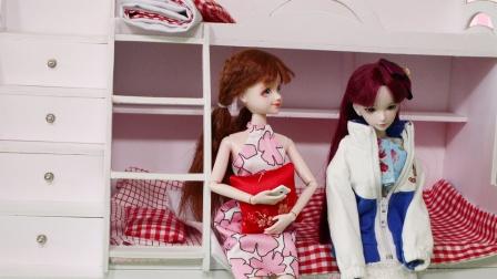 叶罗丽故事 菲灵穿越回妈妈上学的时候 帮助爸爸妈妈在一起