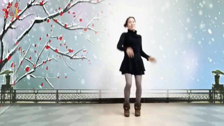 广场舞--伤心的雪花--原创32步