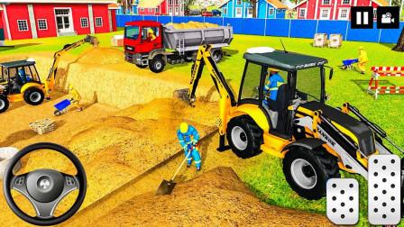 最新工程车挖掘机装载车推土机83