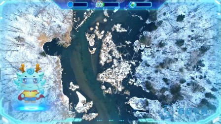 第45集 迷人的江畔雪景——松花江