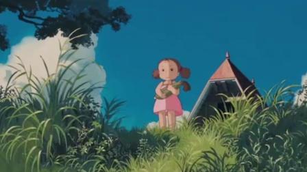 大师宫崎骏23:龙猫的肚子看起来好舒服呀