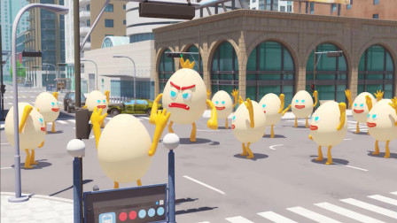 迷你特工队之超级恐龙力量:鸡蛋军团现身蓝玲市