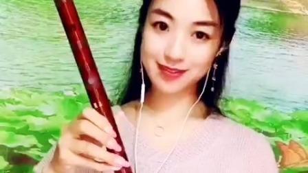 《马儿啊你慢些走》竹笛版,bE调两节瑾儿乐坊专业精品笛子