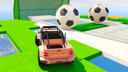 【GTA5】把车当足球踢 脑洞大开的1张图