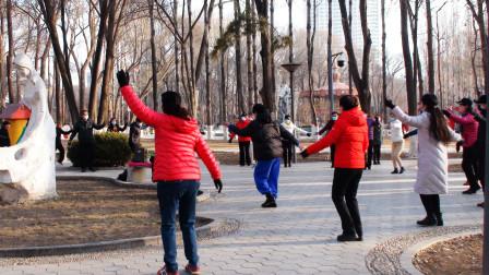 人民公园锅庄舞(66)锅庄舞曲