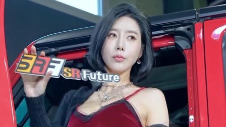 韩国气质车模,汽车展会